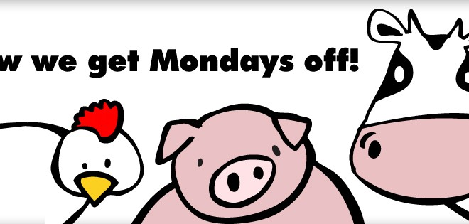 Meatless Monday - Lundi végétarien à Los Angeles