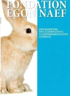 Affiche pour des alternatives à la vivisection de la fondation Egon Naef