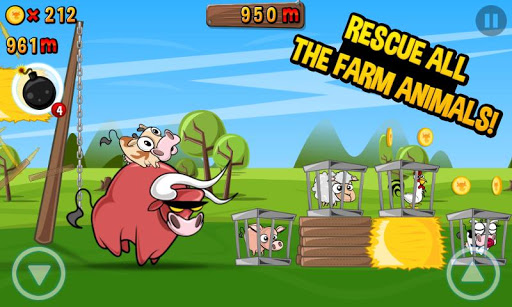 run cow run android vegan game
