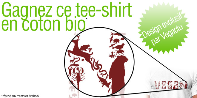 Tee-shirt bio vegan