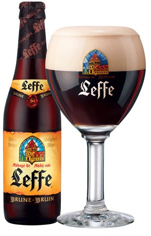 La bière Leffe Brune, une alternative à la Guinness