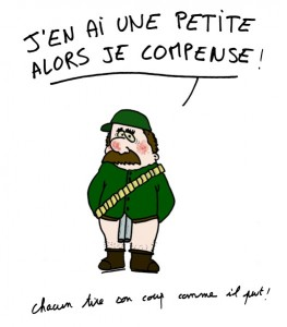 blague chasseur image