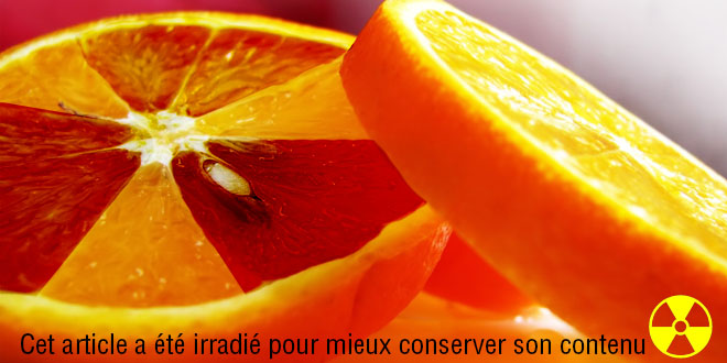 fruits legumes nucleaire irradie