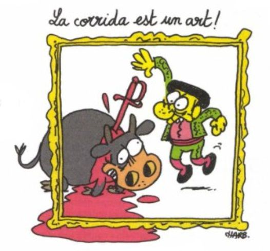 Charlie-Hebdo-Bullfighting-Art-by-Charb