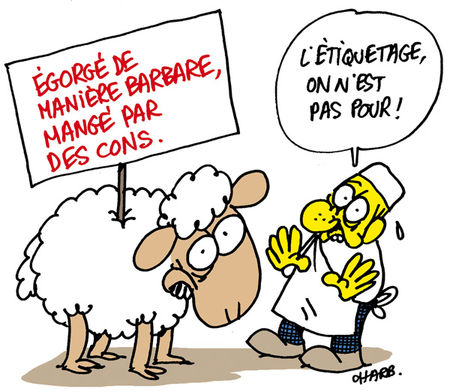 Charlie Hebdo Lamb by Charb