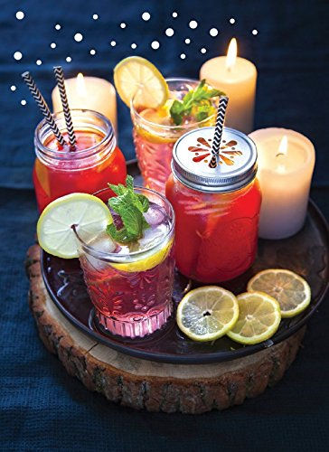 Cocktails de fête : orange-cranberry et gingembre-hibiscus
