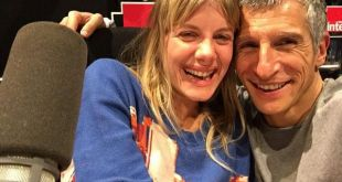 Mélanie Laurent et Nagui sur France Inter. Crédit : Twitter officiel de Mélanie Laurent