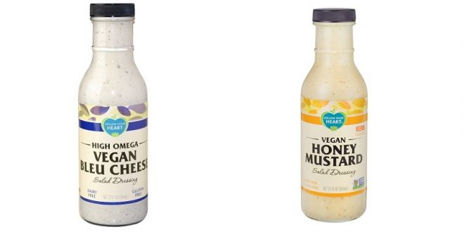 Sauces roquefort et moutarde-miel, version vegan